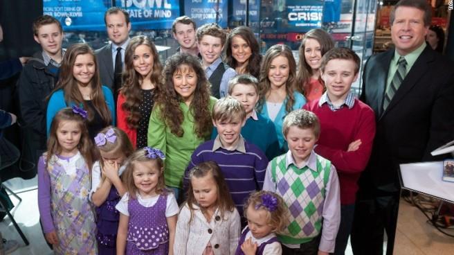La famille Duggar au grand complet