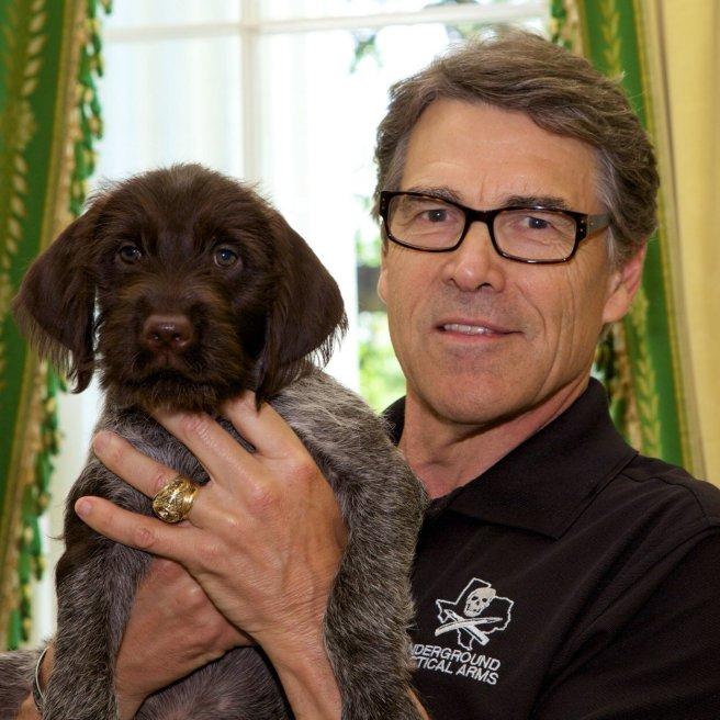 La photo de profil de Rick Perry sur Twitter