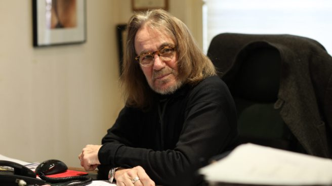 Le Dr. Harold Bornstein dans son bureau à New York (Crédit photo: Statnews)