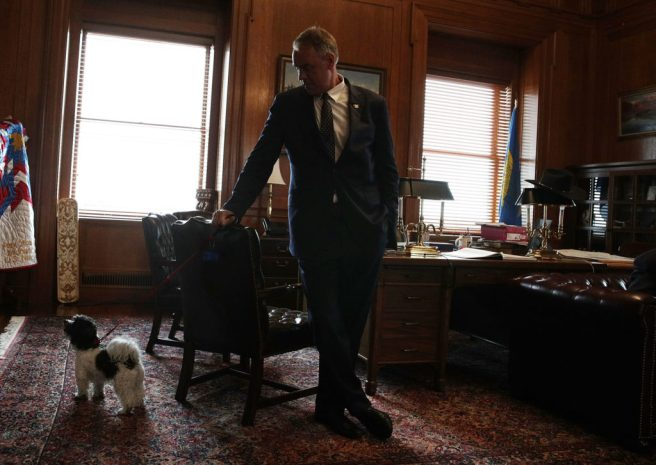 U.S. Department Of Interior Holds A Take Your Dog To Work Day