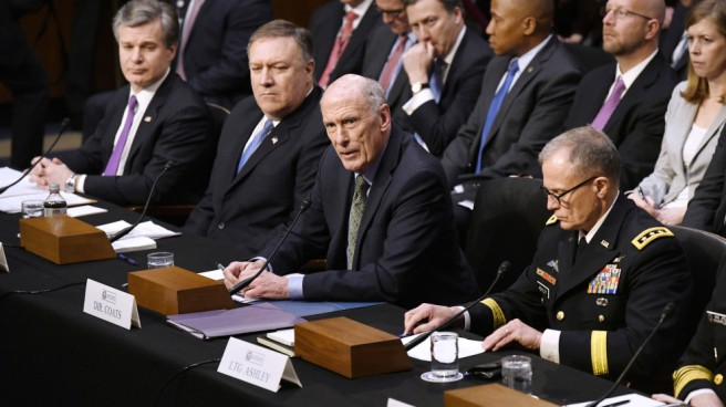Intelligence agency heads testify to examine worldwide threats - DC